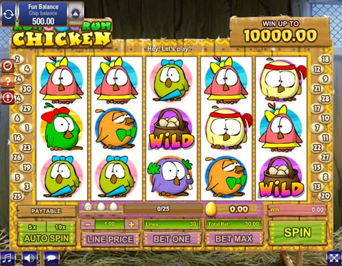 Run Chicken Run Slot - Play this Game by GamesOS Online