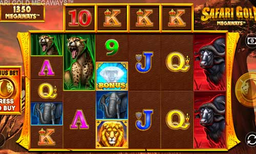 Safari Gold Megaways free slot