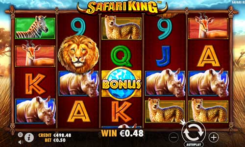 Safari King free slot