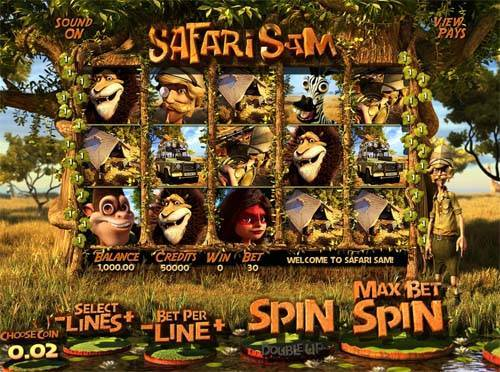 Safari Sam free us slot