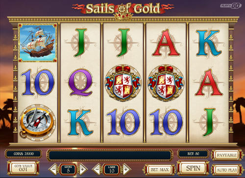 Sails of Gold free slot