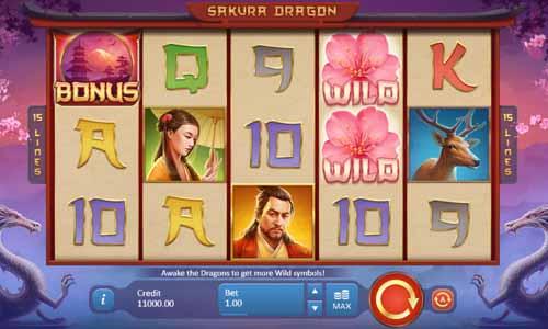 Sakura Dragon free slot