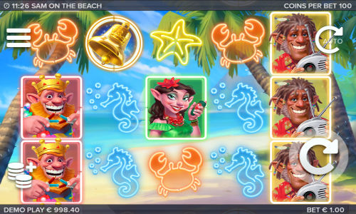 Sam on the Beach Slot - Play Online for Free Money