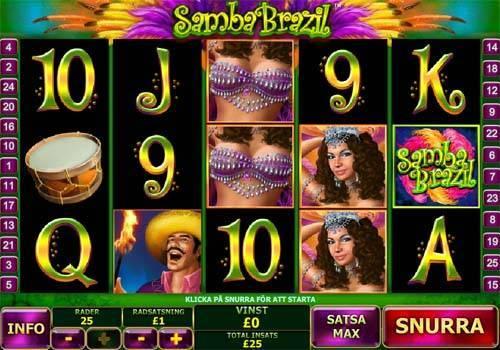 Samba Brazil free slot