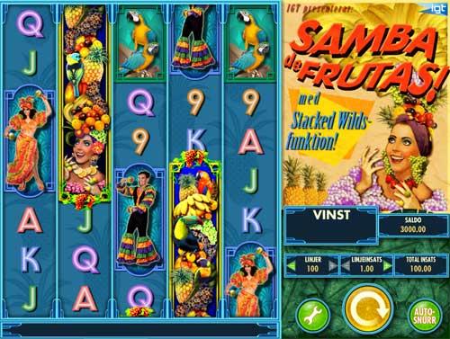 Samba De Frutas free slot