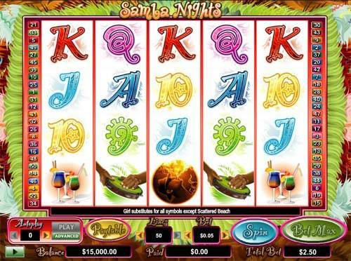 Samba Nights free slot