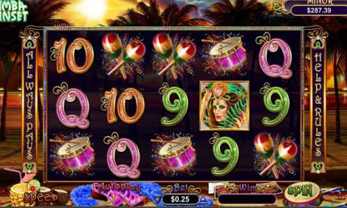Samba Sunset free slot