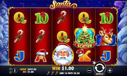 Santa free slot