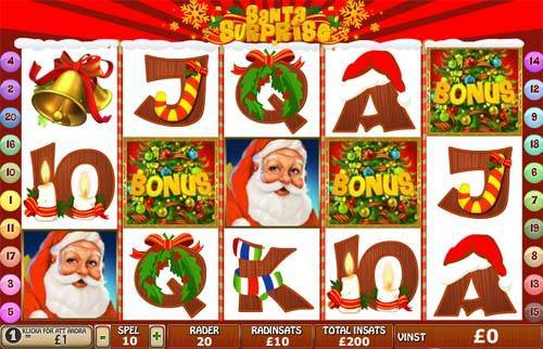 Santa Surprise free slot