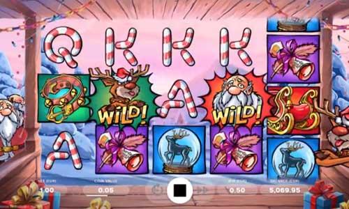 Santa vs Rudolf free slot