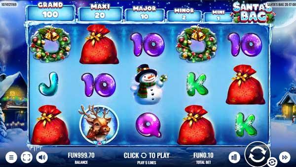 Santas Bag casino slot