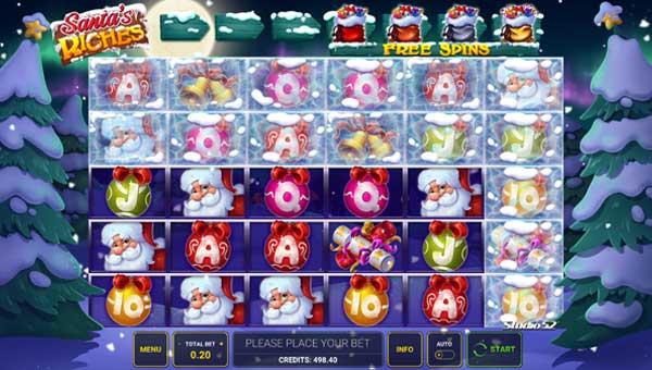 Santas Riches free slot