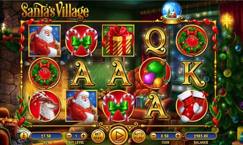 Santas Village free slot