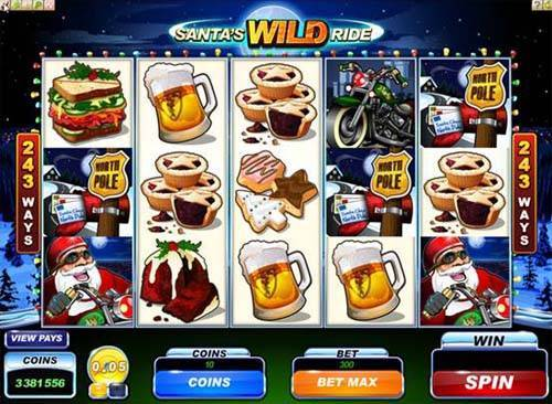 Santas Wild Ride casino slot