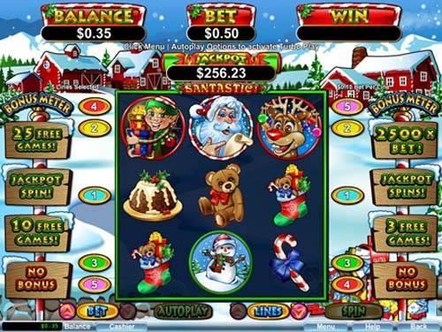 Santastic free slot
