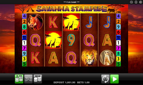 Savanna Stampede slot