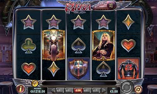 Saxon free slot