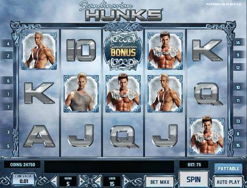 Scandinavian Hunks free slot