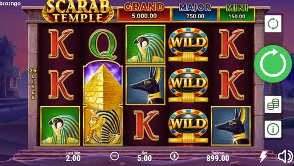 Scarab Temple free slot