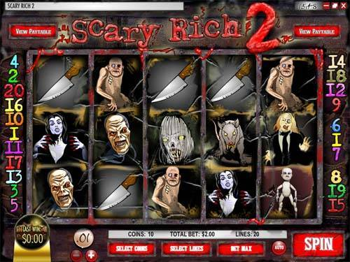Scary Rich 2 free slot