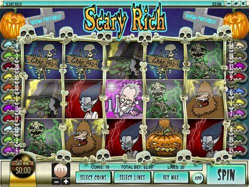 Scary Rich free slot