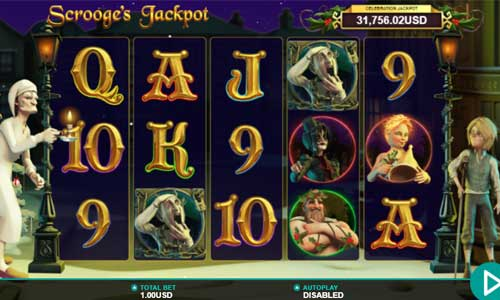 Scrooges Jackpot casino slot