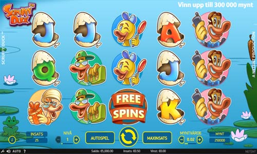 Scruffy Duckcolossal symbols slot