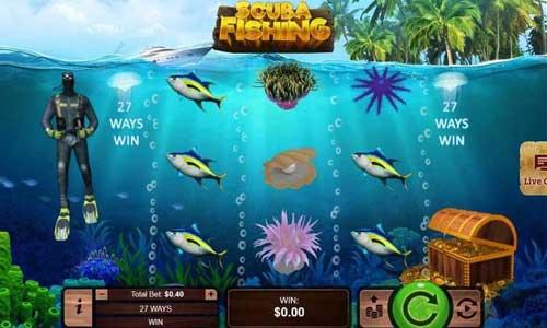Scuba Fishing free slot