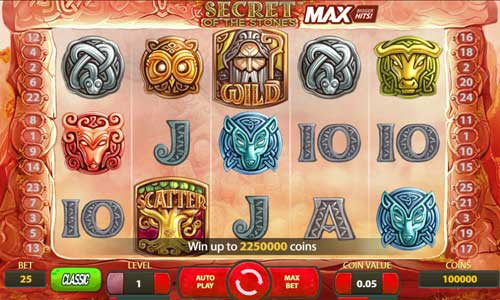 Secret of the Stones MAX casino slot