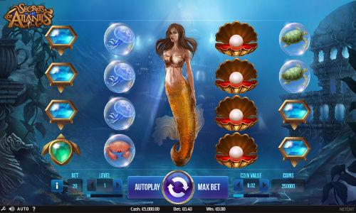Secrets of Atlantis free slot