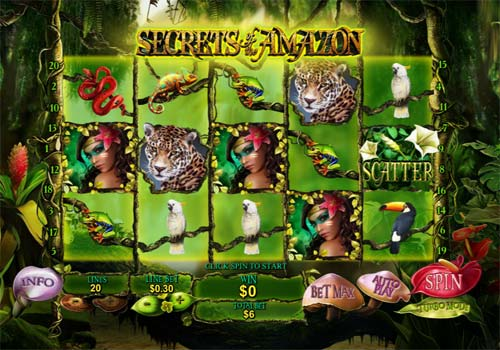 Secrets of the Amazon free slot