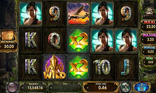 Secrets of the Templejackpot slot