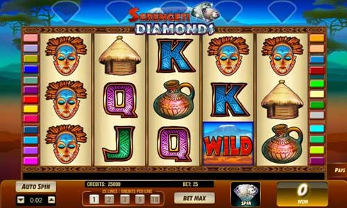 Serengeti Diamonds free slot