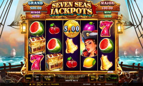 Seven Seas Jackpot free slot