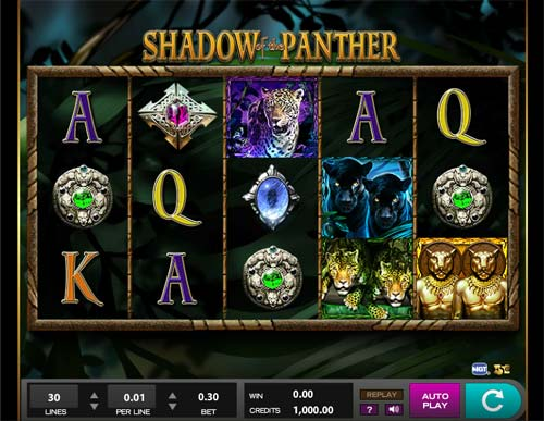 Shadow of the Panter free slot