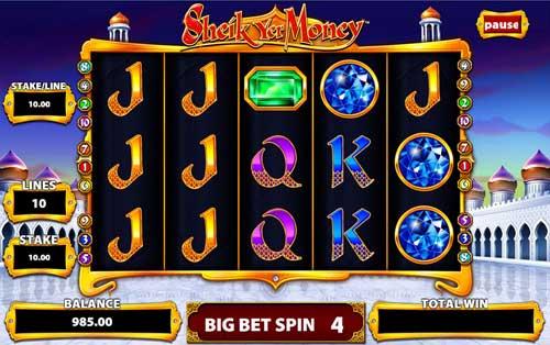 Sheik Yer Money free slot