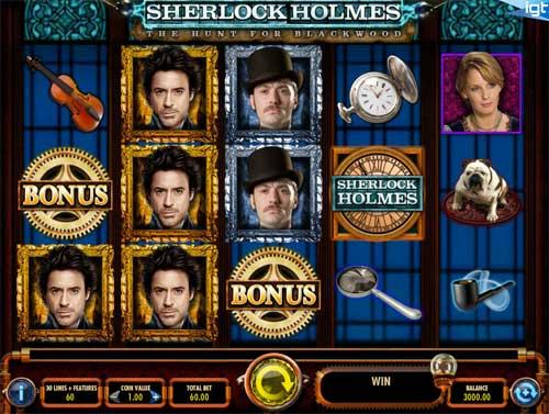Sherlock Holmes free slot