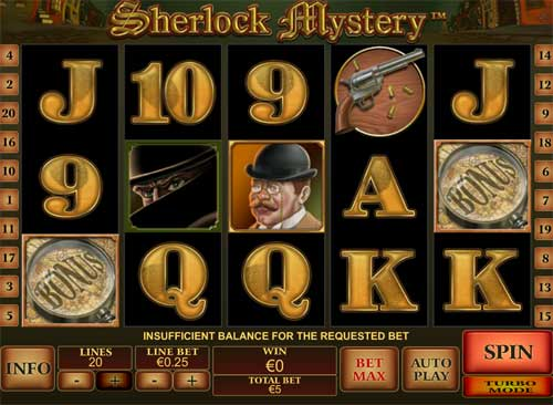 Sherlock Mystery free slot