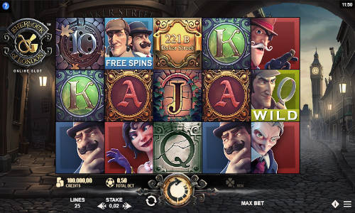 Sherlock of London free slot