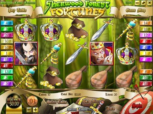Sherwood Forest Fortunes free slot