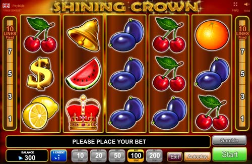 Shining Crown free slot