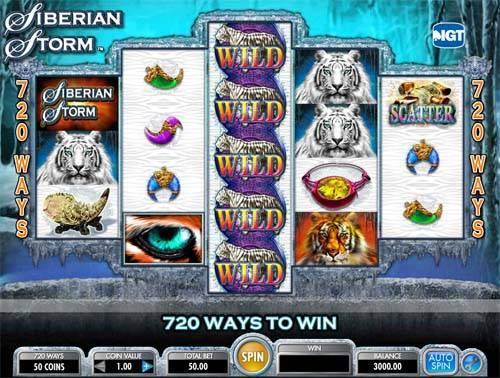 Siberian Storm free slot