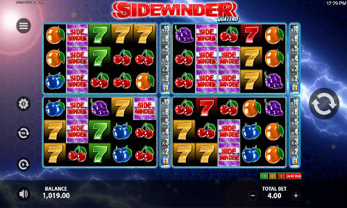 Sidewinder Quattro free slot