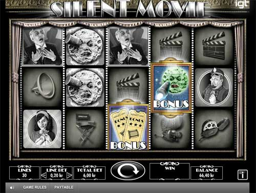 Silent Movie free slot