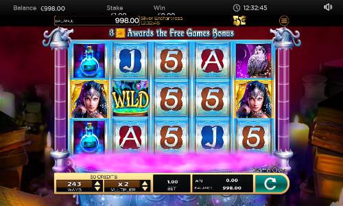 Silver Enchantress free slot