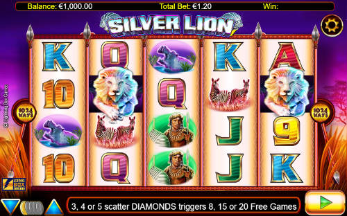 Silver Lion casino slot