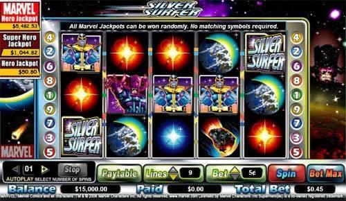 Silver Surfer free slot