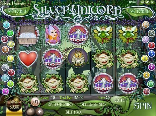 Silver Unicorn free slot