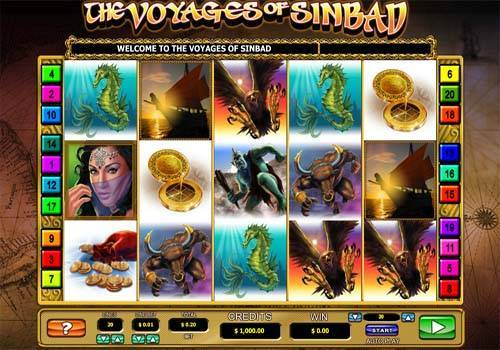 The Voyages of Sinbad free slot