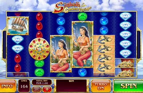 Sinbads Golden Voyage casino slot